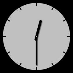 12 Uhr 30